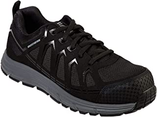 Skechers Work: Malad Comp Toe Mens Slip Resistant Sneaker