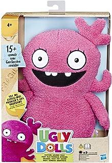 Ugly Dolls- Feature Sounds Moxy Plush, Multicolor (Hasbro E4563ES0)