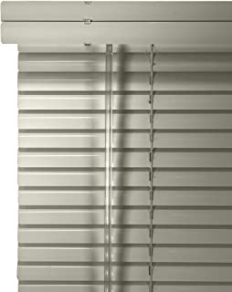 CHICOLOGY Custom Made Corded 1-Inch Aluminum Mini Blind, Blackout Horizontal Slats, Inside Mount, Room Darkening Perfect for Kitchen/Bedroom/Living Room/Office and More: 23