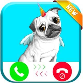 Pug Unicorn Calling You - Free Fake Phone Call ID PRO 2018 - PRANK FOR KIDS