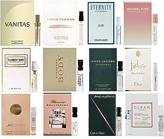 12 Women's Designer Fragrance - 12 Perfume Vials collection