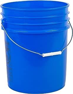 Hudson Exchange Premium 5 Gallon Bucket, HDPE, Blue