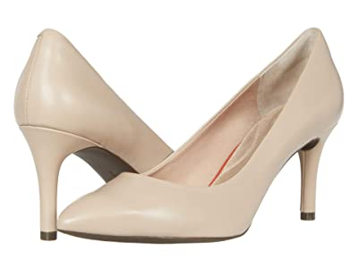 Rockport TM75MMPTH Plain Pump (Neutral Beige Leather) Women