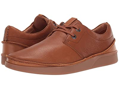 Clarks Oakland Lace (Dark Tan Leather) Men