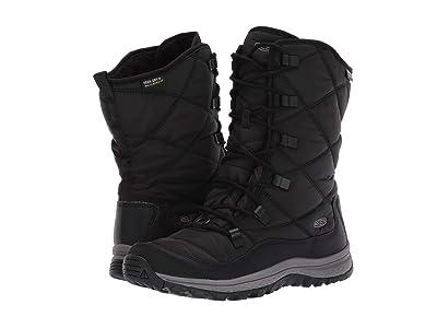 Keen Terradora Lace Boot Waterproof (Black/Steel Grey) Women