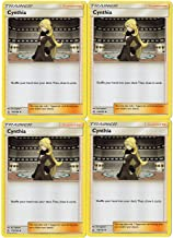 Sun Moon - Ultra Prism - Trainer Card Set - Cynthia 119/156 - Supporter 4 Card Lot