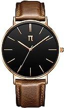 π pi Circulus - Leather Strap - Modern, Minimalis & Luxurious Men's Watch