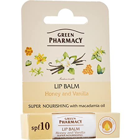 Elfa Pharm Green Pharmacy グリーンファーマシー Lip Balm リップバーム Honey & Vanilla ハニー&バニラ