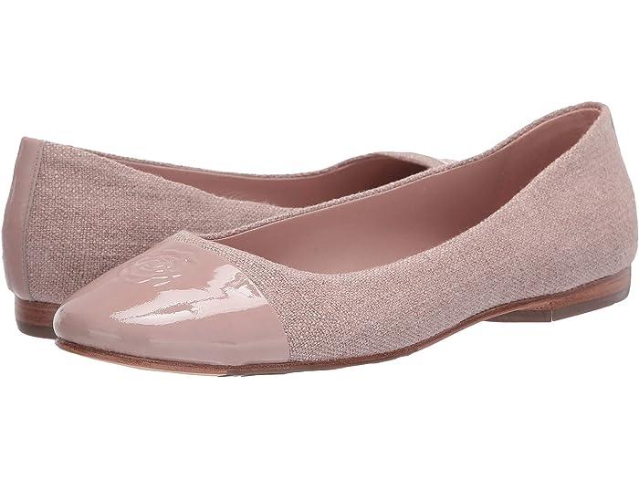 Taryn Rose Womens Adrianna Ballet Flat