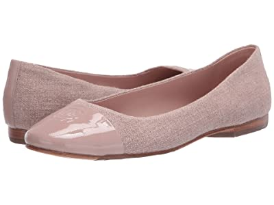 Taryn Rose Adrianna (Powder Linen/Patent) Women