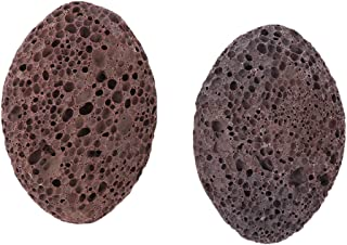 Baoblaze 2pcs Women Men SPA Salon Home Volcanic Lava Pumice Stone Foot Scrubber Callus Remover