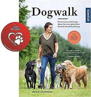 Kosmos hundpromenad: 'How dogs happy follows' bunden bok + hundklistermärke från Collectix