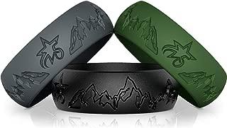 mountain wedding ring