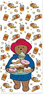 Paddington Bear Party Cello Bags with Twist Ties - Perfect for party loot bags, cake bags, treat bags and more! by Creative Party