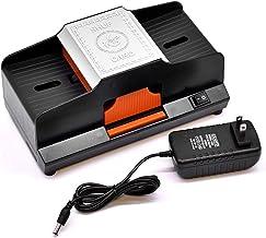 1または2デッキ自動カードシャッフラー、家庭用およびパーティー用のポータブルバッテリー駆動プラスチックカードシャッフラー