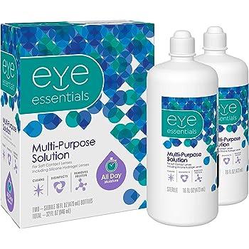 Eye Essentials Multi-purpose Solution, 16 Oz, 2 Count