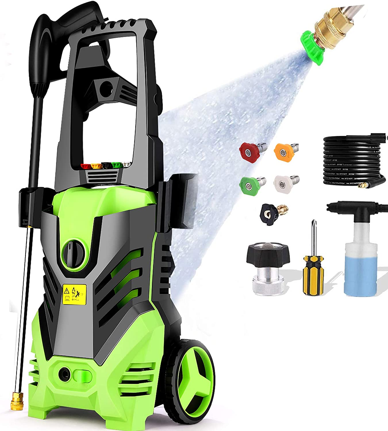 Homdox 2950 PSI Electric Los Angeles Mall Pressure Washer High Popular