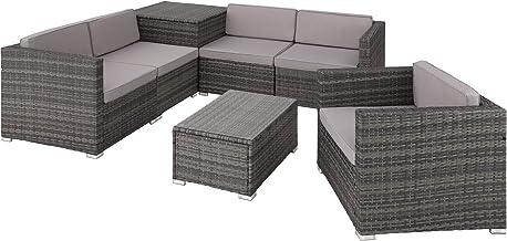 Amazon Co Uk Poly Rattan Garden Furniture