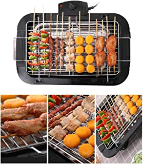 Tidyard Smokeless Indoor/Outdoor Electric Grill Portable Tabletop Grill Kitchen BBQ Grills Adjustable Temperature Control,...