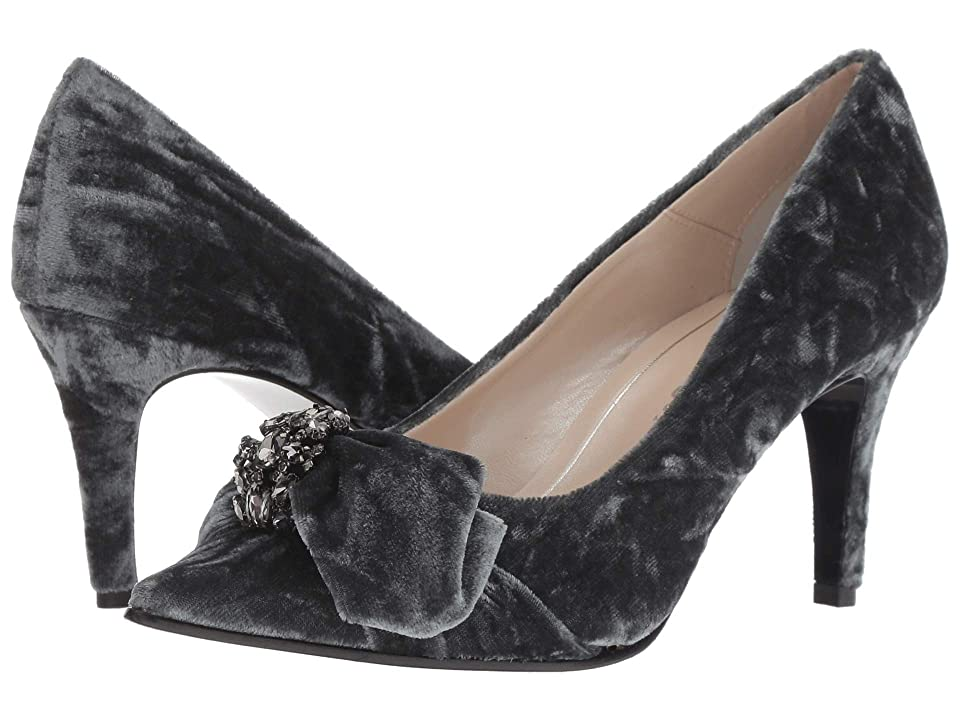 Caparros Orpheus (Grey Crushed Velvet) Women
