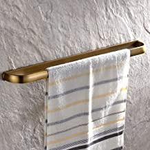Leyden Retro Bathroom Accessories Solid Brass Antique Brass Finished Towel Bar Home Decor Towel Holder Towel Bars Wall m