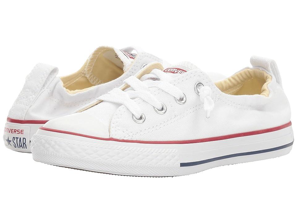 Converse Kids Chuck Taylor(r) All Star(r) Shoreline Slip (Little Kid/Big Kid) (Optical White) Girls Shoes