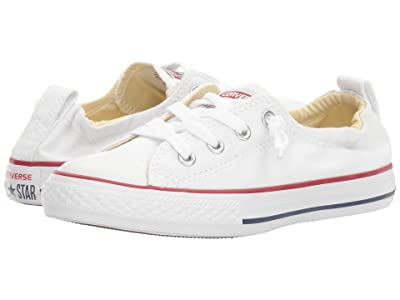 Converse Kids Chuck Taylor(r) All Star(r) Shoreline Slip (Little Kid/Big Kid) (Optical White) Girls Shoes