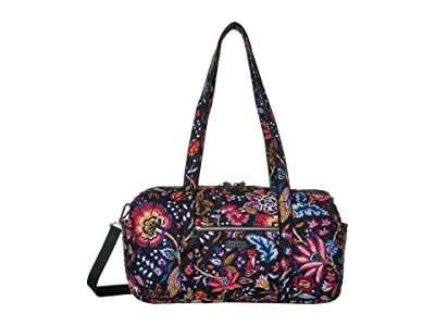 Vera Bradley Iconic Small Travel Duffel (Foxwood) Duffel Bags