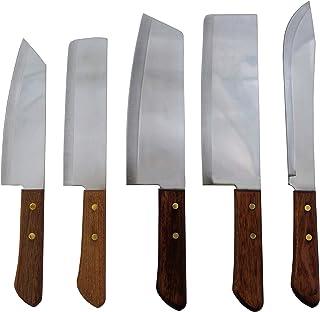 yoaxia ® Marke - Thailand Messerset  5 Messer: #248, 22, 21