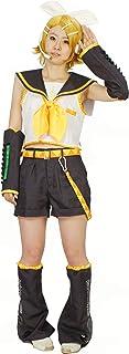 Milica Books Vocaloid Kagamine Rin Cosplay Costume