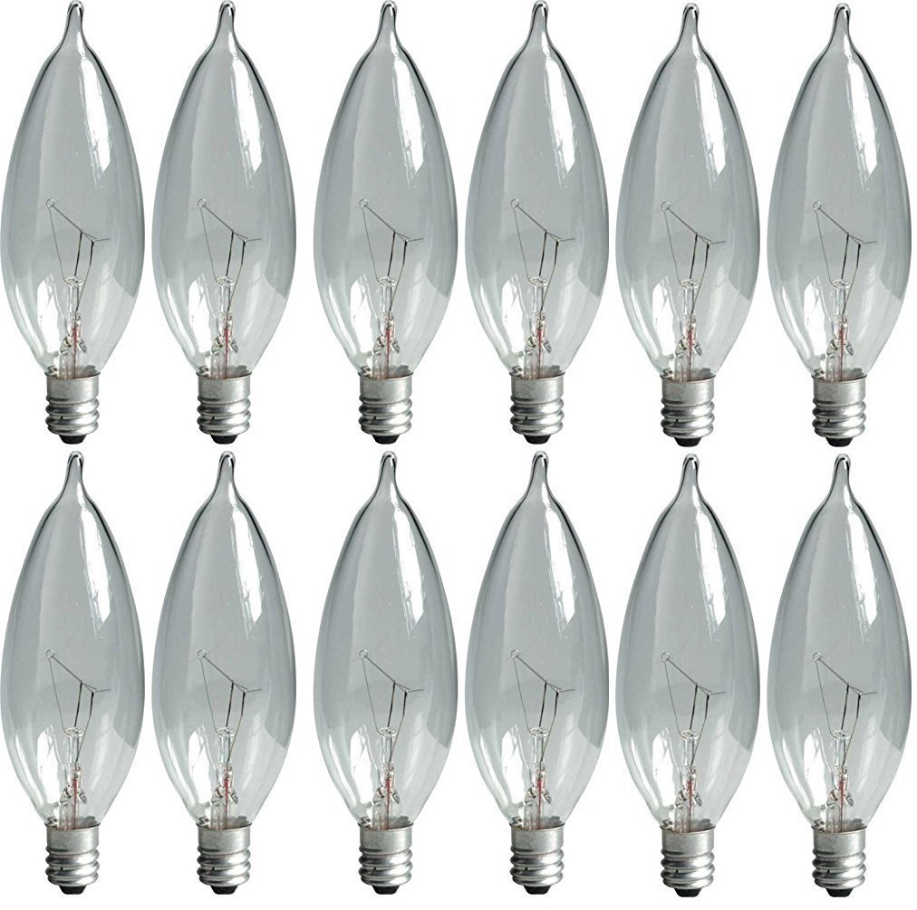 GE Lighting 76239 650 Lumen Candelabra