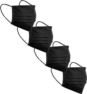 Minime Mascarilla Reutilizable Homologada Higiénica Lavable 100% Algodón Artesanal UNE-0065 Pack Lisos 4 uds