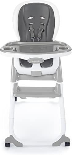 """Ingenuity SmartClean Trio Elite 3 in 1 High Slate Toddler Chair, & Booster, 21.5 x 15 x 34.5"""""""