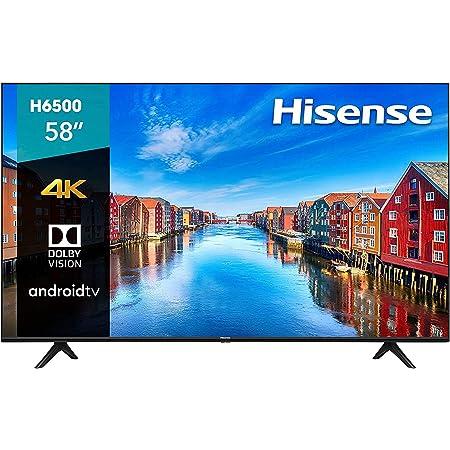 """Hisense 58H6500E Smart TV 58"""" Ultra HD 4K LED, Wi-Fi, 3 x HDMI, color Negro (Renewed)"""