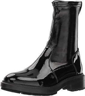 Aquatalia Women's Leoda Patent/Stretch Pat Ankle Boot