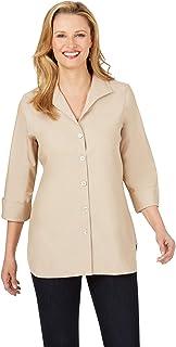 Tunic Longshirt Beige Points Size 48