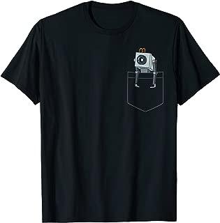 Mademark x Rick and Morty - Butter Robot Pocket T-Shirt