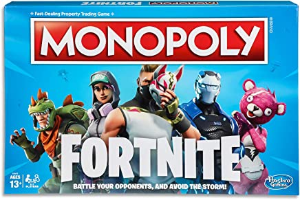 Monopoly Fortnite by Epic Games Edition - Board Games -  Tilted Towers, Storm Cards, Pay in HP - 2 to 7 players - Kids Toys - Ages 13+