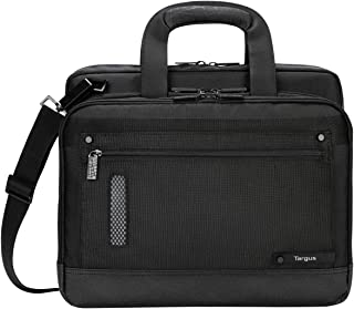 Targus Revolution Travel and Checkpoint-Friendly Ultra-Thin Laptop Bag for 13.3-14-Inch Laptop, Black (TTL224)