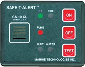 Safe T Alert Gas Vapor Alarm, Fume, Fire & Flood/Bilge Water Detect. [SA-10XL]
