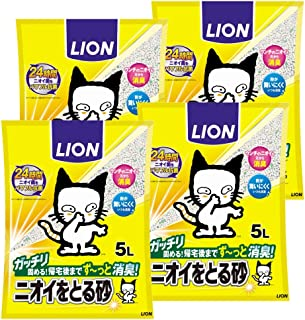 ニオイをとる砂 5L×4袋(ケース販売)