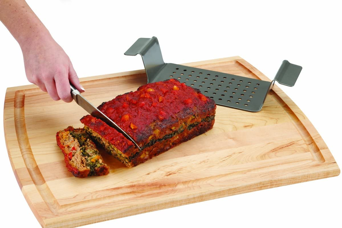 Grey Non-Stick 2-Piece Healthy Meatloaf Set New Version