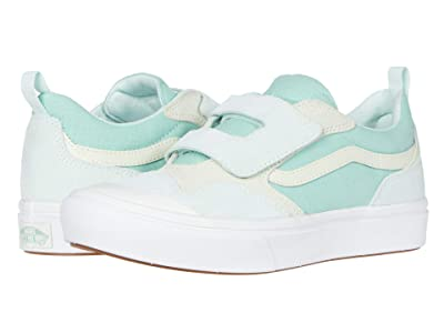 Vans Kids Autism Awareness ComfyCush New Skool V (Big Kid) ((Autism Awareness) Green) Girls Shoes