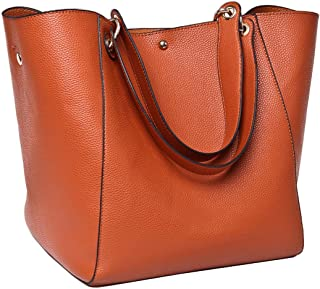 TIBES Fashion Waterproof Shoulder Bag Synthetic Leather Handbag Women Girls Large Tote Purse