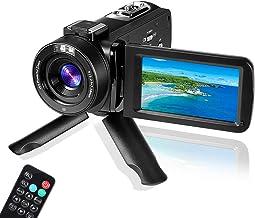 دوربین دیجیتال YouTube Vlogging Camera ، HD 1080P 30FPS 24MP 16X Zoom Digital 3.0 اینچ 270 درجه چرخش LCD ، دوربین فیلمبرداری دوربین های دانشجویی دیجیتال ، برای مردان / زنان / سالمندان / کودکان