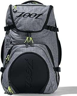 Zoot Ultra Tri Bag - Canvas Gray Triathlon Transition Bag for Men and Women