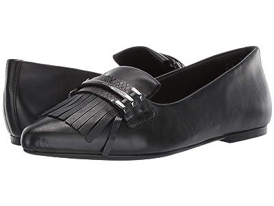 Hush Puppies Sadie Kiltie Loafer (Black Leather) Women