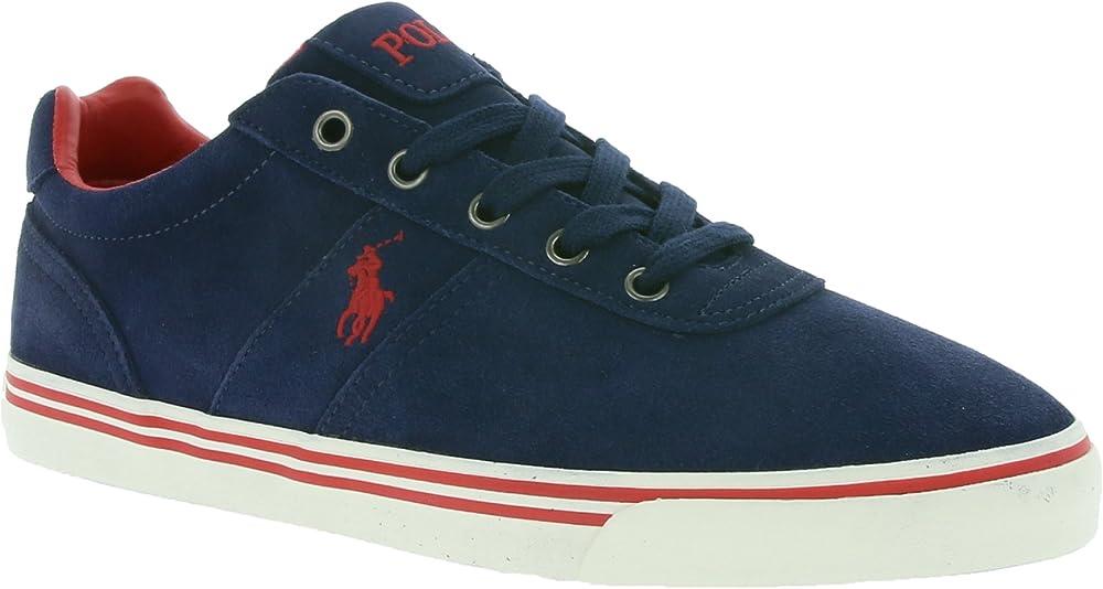 ralph lauren, sneakers basse,scarpe sportive per uomo,in pelle scamosciata 816641859004