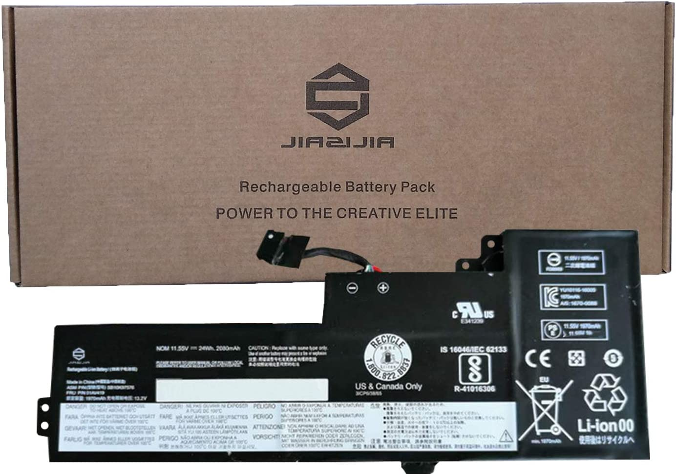 JIAZIJIA 01AV419 Laptop Battery Popular brand Inventory cleanup selling sale Lenovo Replacement ThinkPad for