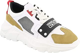 Sneakers Hombres VERSACE JEANS COUTURE EOYVBSC4 Cuero Nylon Blanco